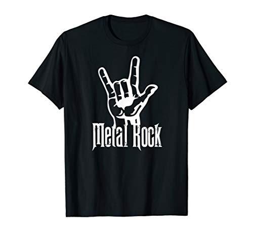 Metal Rock - Rock n Roll T Shirts - Hand Horns ()