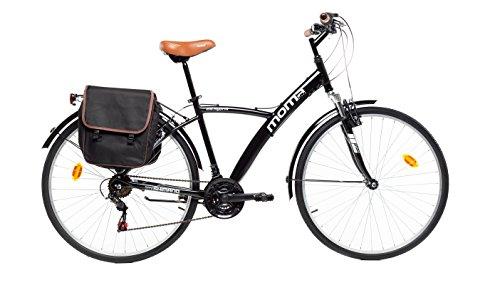 🥇 Moma Bikes Bicicleta Trekking / Paseo  HYBRID 28″