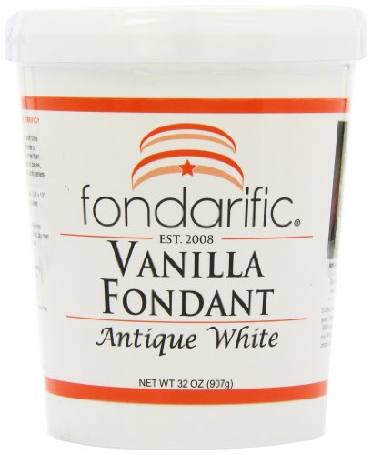 Fondarific Vanilla Fondant Antique White, 2-Pounds ()
