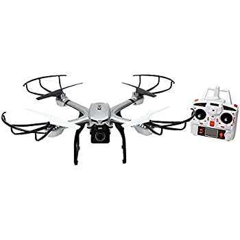 Ionic S900R 2.4G Headless RTF Quadcopter Drone for GoPro with Includes 720P HD FPV Camera (Silver, Compatible with GoPro Hero 4)