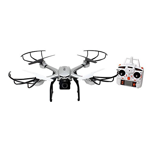 Price comparison product image Ionic S900R 2.4G Headless RTF Quadcopter Drone for GoPro with Includes 720P HD FPV Camera (Silver,  Compatible with GoPro Hero 4)
