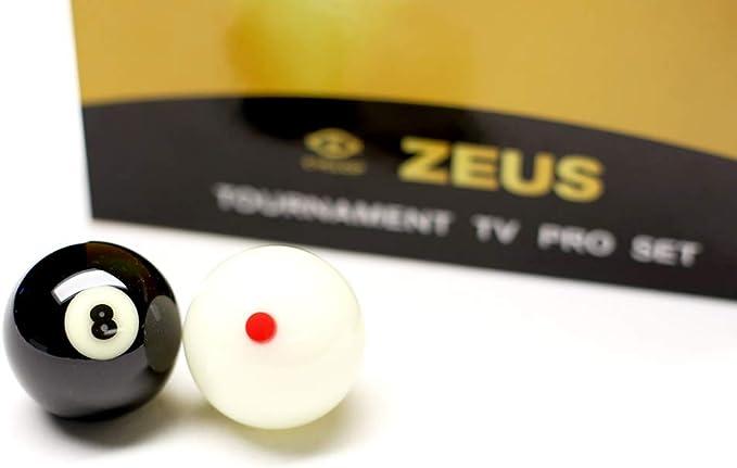 Cyclop Juego Bolas Pool English Zeus Tournament Pro Ball Set 50 ...
