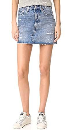 Levi's Women's Deconstructed Skirt, American Wild, 24
