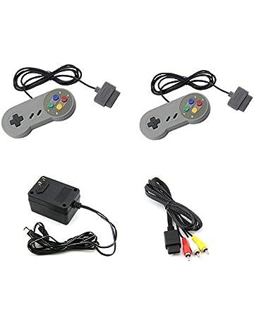 Super Nintendo SNES AC Adapter / AV Adapter / 2 controllers