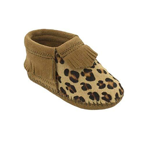 Minnetonka Kids Baby Girl's Riley (Infant/Toddler) Brown 1 M US Infant M