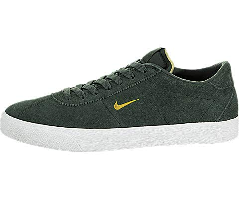 - NIKE Men's SB Zoom Bruin Midnight Green/Yellow Ochre Skate Shoe 10.5 Men US