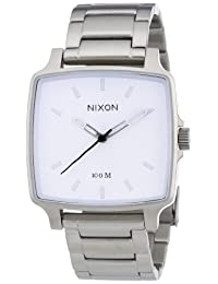 Nixon Men's Cruiser White Dial Stainless Steel