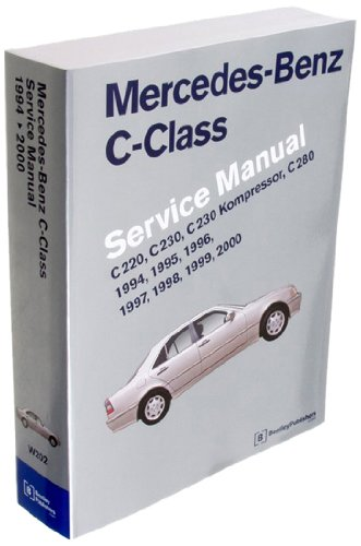 Bentley Paper Repair Manual MB C-Class (W202)