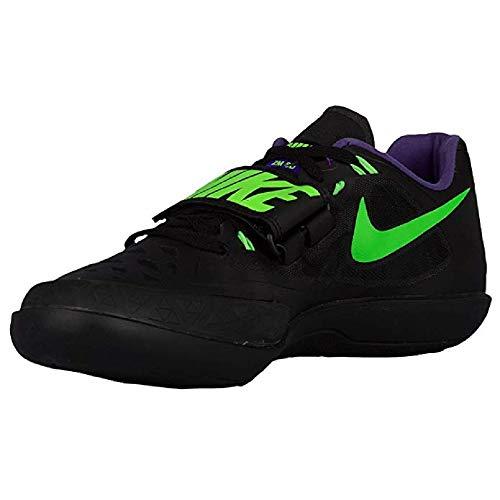 Nike Zoom SD Shotput Discus Hammer Shoes Mens (11, Black/Green-FRC Purple)