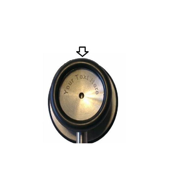 Fonendoscopio de Doble Campana + Grabado Personalizado (Varios colores) (Azul Marino) 4
