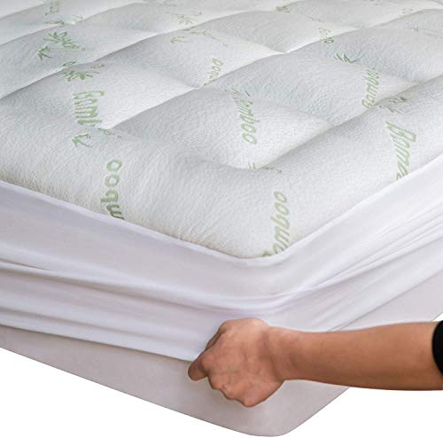 Niagara Sleep Solution Bamboo Mattress Topper Twin Cooling Breathable Extra