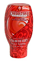Cold Stone Creamery Sauce, Strawberry, 11 Ounce