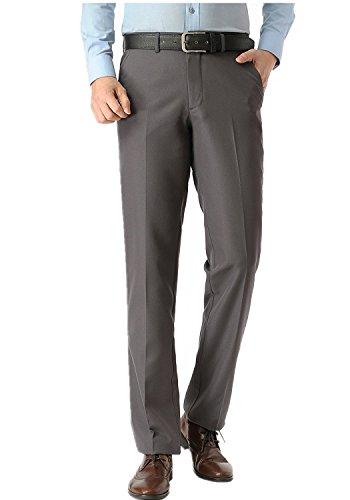 Slant Pockets Trousers (KKesquire Flat Front Trousers Mens Slacks Flat Front Mens Flat Front Dress Pants 007A-39)