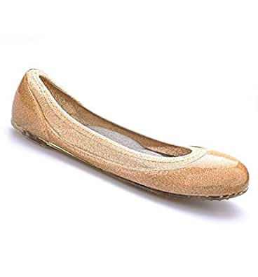 Javie Womens Summer Maternity Shoes Comfortable for Pregnancy Every Day Wear, Gold SZ 36