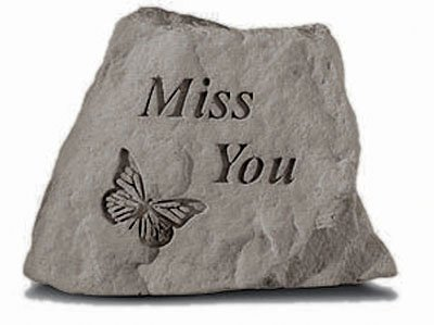 Kay Berry Inc Miss You (w/Butterfly) Wall Décor, Multicolor