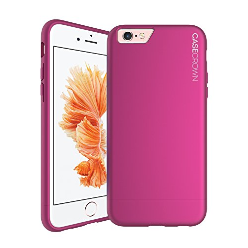 iPhone 6 Plus Case, Perfect Fit & Soft Interior, CaseCrown Lux Glider Case (Purple Amethyst)