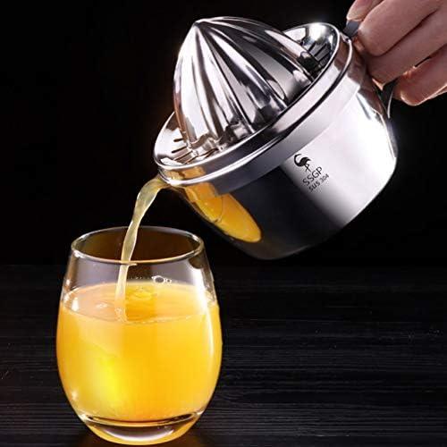 UPKOCH Exprimidor de Naranjas Cítricas Acero Inoxidable Limón Exprimidor Manual de Mano Exprimidor de Frutas Suministros Fabricante de Bebidas Herramienta para El Hogar Bar