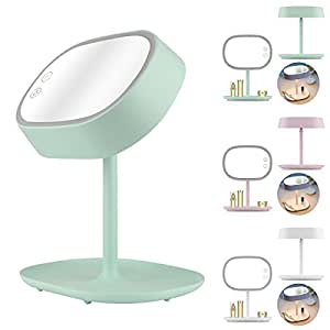 lighted makeup mirror oenbopo 3 in 1 natural makeup light vanity mirror. Black Bedroom Furniture Sets. Home Design Ideas