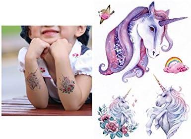 Tatuaje de unicornio adhesivo, para pegar, th-124: Amazon.es: Belleza