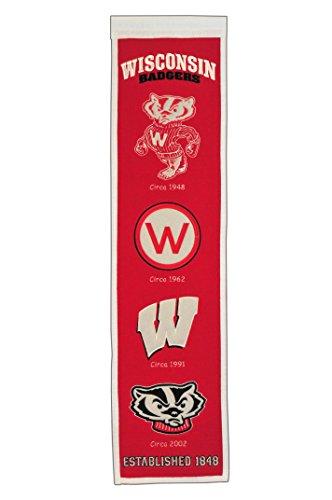 NCAA Wisconsin Badgers Heritage Banner