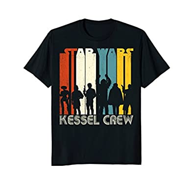 Star Wars Han Solo Movie Kessel Crew Groovy Graphic T-Shirt