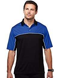 Racewear K908 Mens 100% Polyester Color Blocking Polo Shirt