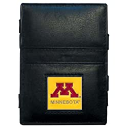 Siskiyou NCAA Minnesota Golden Gophers Leather Jacob's Ladder Wallet