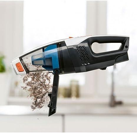 inal/ámbrico aspiradora conocido Por TV 160/Watt Aspiradora de mano y suelo 3/in1/| luces LED 35.000/U//min Genius Invictus M5/bater/ía Aspiradora con base de carga de Nuevo 20/piezas