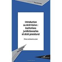 Introduction au droit italien