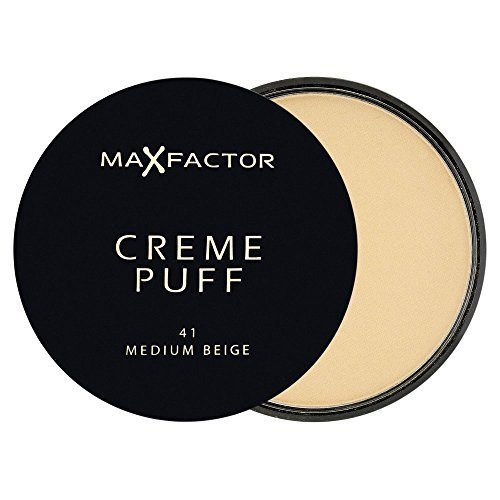 Price comparison product image Creme Puff - # 41 Medium Beige Max Factor Foundation 21 g Women by Max Factor