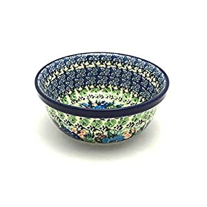 Polish Pottery Bowl – Soup and Salad – Unikat Signature – U4572