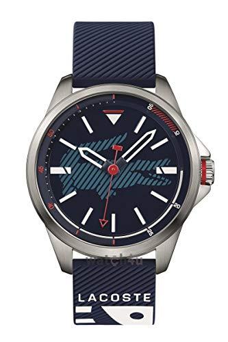 Lacoste Capbreton Blue Dial Silicone Strap Men's Watch 2010940
