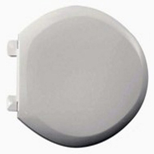 American Standard 5282.011.020 Everclean Surface Round Front Toilet Seat, White