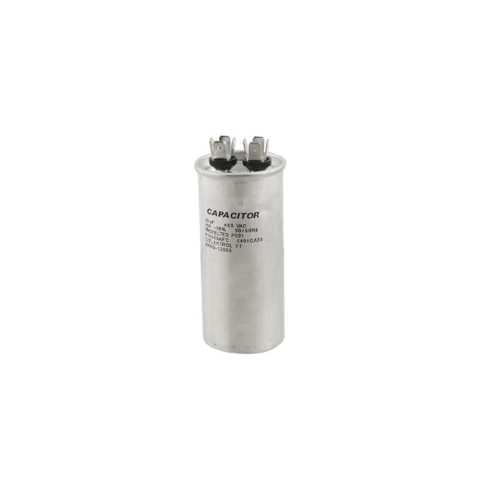 uxcell Air Conditioner 20uF 450V AC Polypropylene Film Motor Run Capacitor