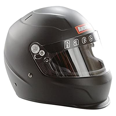 RaceQuip 273990 Flat Black XX-Small PRO15 Full Face Helmet (Snell SA-2015 Rated): Automotive