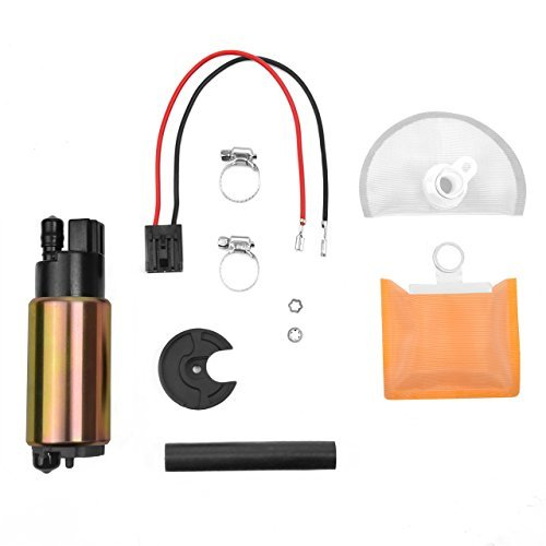 Nissan Maxima Fuel - SANDAKI New E8213 E2068 Electric Intank Fuel Pump Kit with Installation Accessories, UNIVERSAL for Chevrolet Chevy Ford Nissan Jeep Cherokee Dodge Ram Honda and MORE