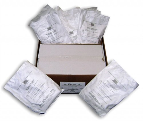 Sterile Dome Covers, 18'', Case of 20 Bags