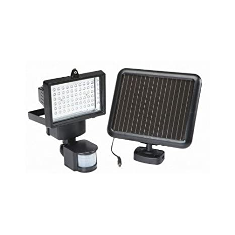 Bunker Hill Solar Security Light  Lights Outdoor Come on When Motion Is  Sensed  Best Solar Powered Flood Light  Use the Power of Nature and the Sun  to