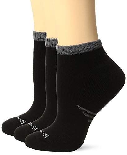 No Nonsense Women's X Sport Cushioned Ankle Sock 3-Pack, ...