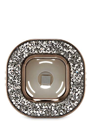 Bath Body Works Scentportable Car Vent Clip Pewter Tossed ()
