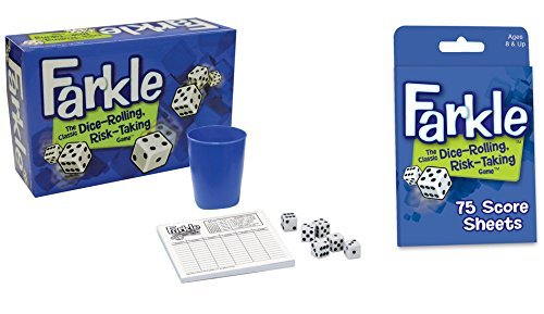 Patch Products Dice Game Bundle: Farkle and Farkle Score ...