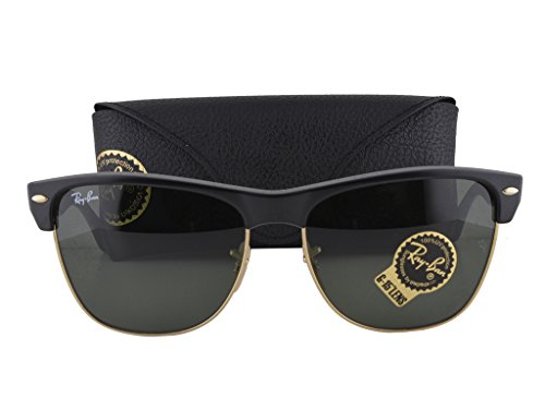 Ray Ban RB4175 Matte Black Arista w/Green Lens 877 RB - Aviators Real Ban Ray