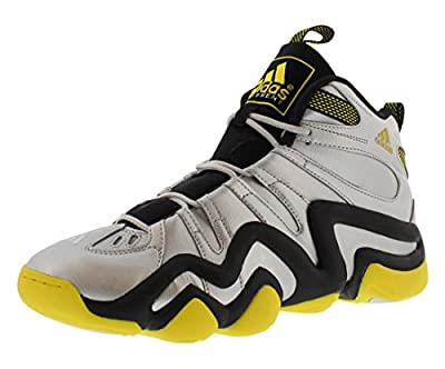 Adidas Men's Crazy 8 Basketball Shoes Silvmt,silvmt,yellow