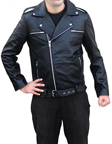 eaec0186f outlet The Walking Dead Jeffrey Dean Morgan Negan Leather Jacket ...