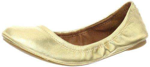 Lucky Women's Emmie Ballet Flat,Gold,9 M US