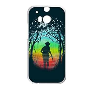 HTC One M8 Cell Phone Case White THE HUNT BNY_6901003