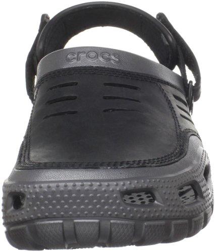 crocs Men's Yukon Graphite/black Sport Clog - 10 D(M) US