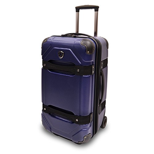 travelers-choice-24-inches-polycarbonate-luggage-trunk-blue-tc09025n