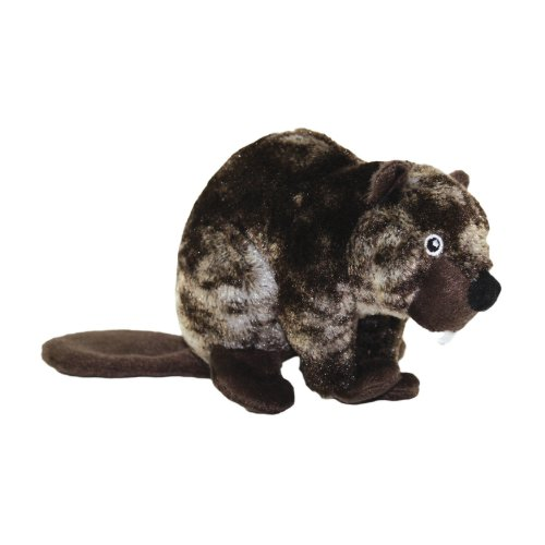 Mighty Toys Jr. Nature Series Benny the Beaver Toy, My Pet Supplies