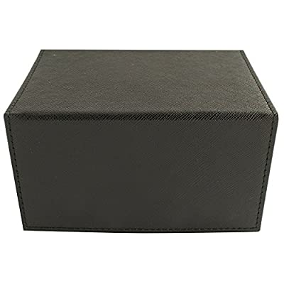 Deck Box: Creation Line Medium 100Ct Black: Toys & Games
